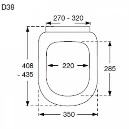 pressalit wc sitz 3 absenkautomatik d38 wei. Black Bedroom Furniture Sets. Home Design Ideas