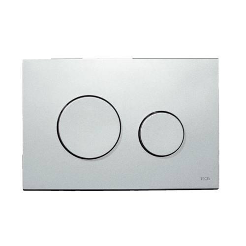 tece teceloop wc bet tigungsplatte f r zweimengentechnik chrom matt. Black Bedroom Furniture Sets. Home Design Ideas