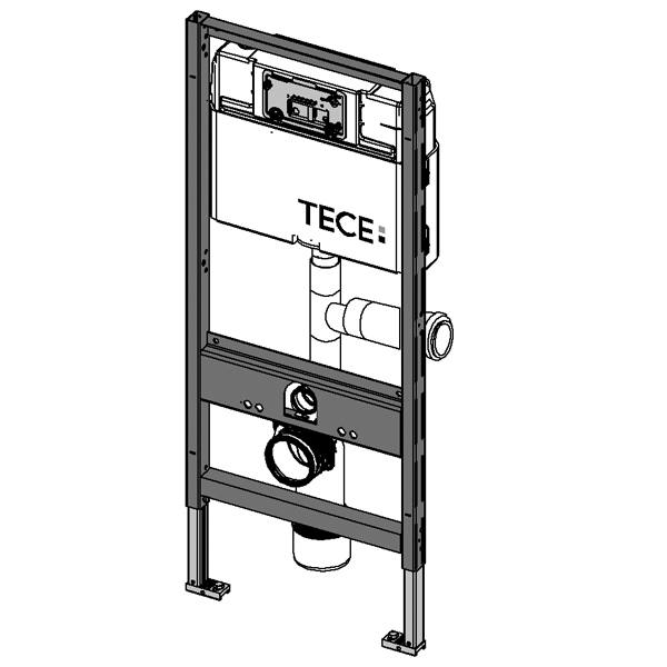 teceprofil wc modul mit tece sp lkasten mit anschluss f r. Black Bedroom Furniture Sets. Home Design Ideas